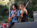 Steve Lukather and Tal Wilkenfeld