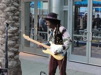 Jimi makes a rare NAMM appearance