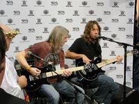 Steve Morse and Dave LaRue @ Ernie Ball / Music Man