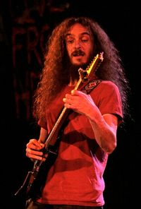 Guthrie Govan @ Martyrs'. Photo by Alex Kluft.