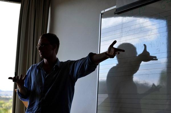 Matt Warnock Teaching in Brazil
