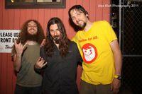 The Aristocrats (Guthrie Govan, Bryan Beller, Marco Minnemann). Photo by Alex Kluft.