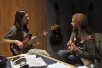 Bryan Beller and Guthrie Govan