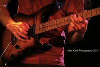 Guthrie Govan - Live at Martyrs'. Photo by Alex Kluft.