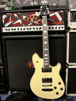 EVH Amp and Wolfgang Custom