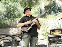 Chris Poland - Live at the Baked Potato Jazz Fest. Photo by Rich Murray