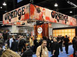 Orange Booth