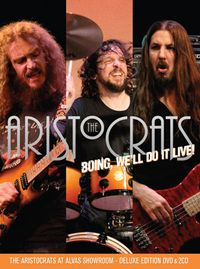 BOING, We'll Do It Live! - The Aristocrats At Alvas Showroom
