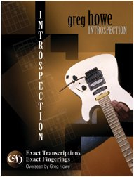 Greg Howe - Introspection Book
